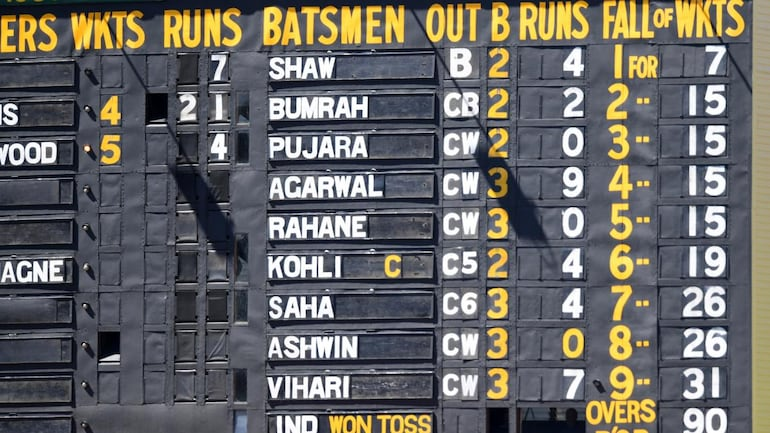 The tragicomedy of 36 all out